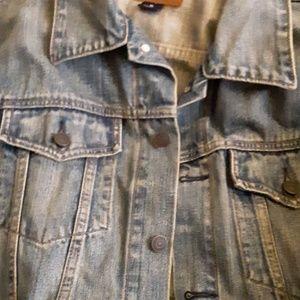 Xl gap jeans jacket